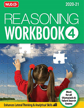 Olympiad Reasoning Workbook for Class 4 by MTG Learning