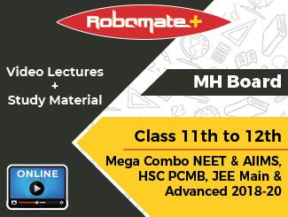 Maharashtra Board Class 11th to 12th Mega Combo NEET & AIIMS,HSC PCMB, JEE Main and Advanced 2018-20 (2 Years)(Online)