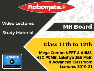 Maharashtra Board Class 11th to 12th Mega Combo NEET & AIIMS,HSC PCMB, Lakshya JEE Main and Advanced Classroom Lectures 2019-21 (Online, 2 Years)