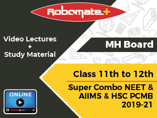 Maharashtra Board Class 11th to 12th Super Combo NEET & AIIMS and HSC PCMB Video Lectures 2019-21 (Online, 2 Years)