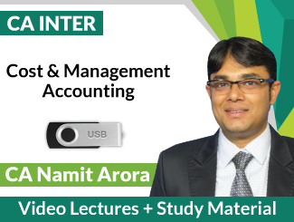CA Inter Cost & Management Accounting Video Lectures by CA Namit Arora