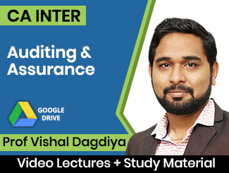 CA Inter Auditing & Assurance Video Lectures by Prof Vishal Dagdiya (Download)