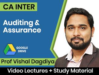 CA Inter Auditing & Assurance Video Lectures by Prof Vishal Dagdiya (Download)