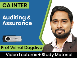 CA Inter Auditing & Assurance Video Lectures by Prof Vishal Dagdiya (USB)
