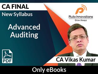 CA Final New Syllabus Advanced Auditing E-Book by CA Vikas Kumar