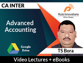 CA Inter Advanced Accounting Video Lectures by TS Bora (Download)