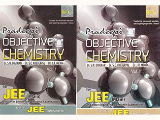 Pradeeps Objective Chemistry for JEE (Mains & Advanced) (Set of 2 Volume) Books by S.N. Dhawan, S.C. Kheterpal, J.R. Mehta