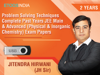 Problem Solving Techniques Complete Past Years JEE Main & Advanced (Physical & Inorganic Chemistry) Exam Papers by JH Sir (USB) 2 Years