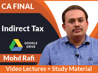CA Final IDT Video Lectures by Mohd Rafi (Download)