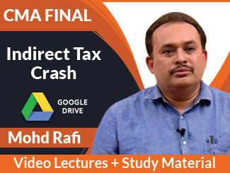 CMA Final IDT Crash Video Lectures by Mohd Rafi (Download)