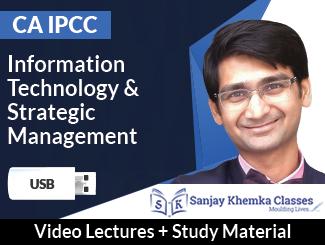 CA IPCC ITSM Video Lectures by CA Sanjay Khemka (USB)