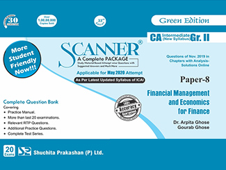 Scanner CA Inter Group-2 (Paper-8) Financial Management and Economics for Finance Green Edition
