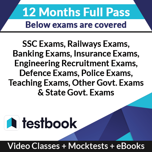 Testbook Full Pass for Online Courses + Mocktests (12 Months)