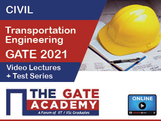 GATE (CE) Transportation Engineering Video Lectures + Test Series (2021)
