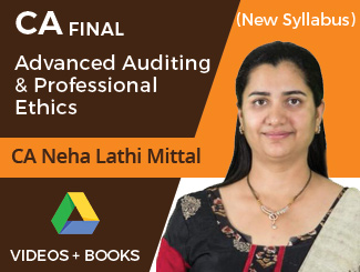 CA Final New Syllabus Advanced Auditing & Professional Ethics by CA Neha Lathi Mittal (Download)
