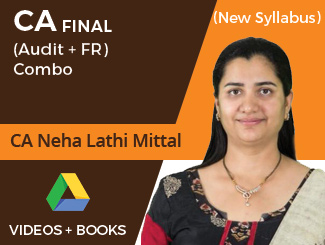 CA Final New Syllabus (Audit + FR) Combo Video Lectures by CA Neha Lathi Mittal (Download)