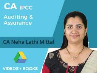 CA IPCC Auditing & Assurance Video Lectures by CA Neha Lathi Mittal (Download)