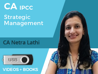 CA IPCC Strategic Management Video Lectures by CA Netra Lathi (USB)