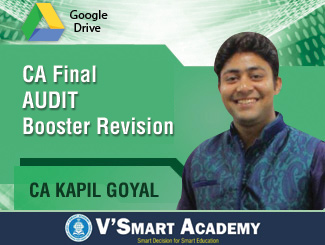 CA Final AUDIT Booster Revision Video Lectures by CA Kapil Goyal (Download)