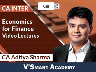 CA Inter Economics for Finance Video Lectures by CA Aditya Sharma (USB)