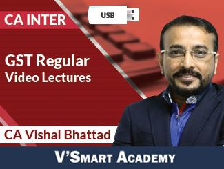 CA Inter GST Regular Video Lectures by CA Vishal Bhattad (USB)