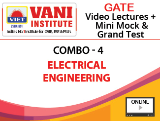 GATE 2020 Combo-4 Electrical Engineering Video Lectures plus Mini Mock & Grand Test (Online)