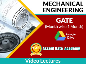 Month wise GATE ME Video Lectures (Download, 1 Month) By