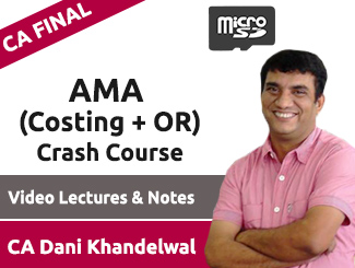 CA Final AMA Video Lectures by CA Praveen Khatod (USB) By Alpha Academy