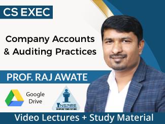 CS Executive Company Accounts & Auditing Practices Video