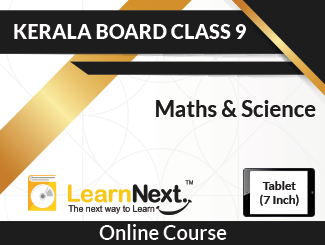 Learnnext Kerala Board Class 9 Maths & Science Online Course