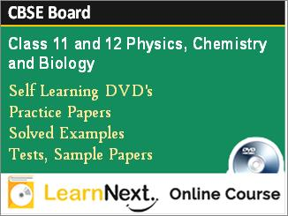 Class 11 and 12 CBSE Board Online Course Physics, Chemistry