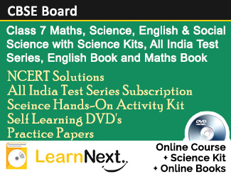 Class 7 CBSE Board Online Course Maths, Science, English and