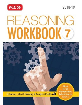 Olympiad Reasoning Workbook for Class 7 by MTG Learning By MTG Learning