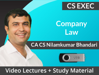 CS Executive Company Law Video Lectures by CA CS Nilam Bhandari (USB)