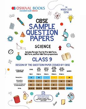 Oswaal CBSE Sample Question Paper Class 9 Science By Oswaal