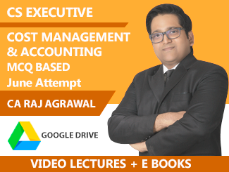 CS Executive Cost & Management Accounts Video Lectures (USB) By ACE
