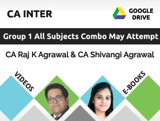 CA Inter Group 1 All Subjects Combo Video Lectures by CA Raj
