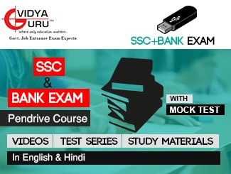 SSC + Bank Exam Pen Drive Course (Videos + Test Series + Study Material)