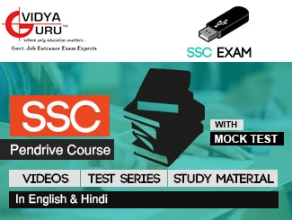 SSC Pen Drive Course (Videos + Test Series + Study Material
