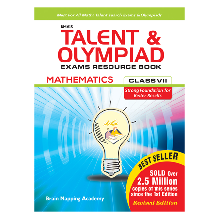 BMAs Talent & Olympiad Exams Resource Book for Class - 7 (Maths
