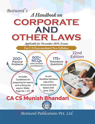 A Handbook on Law, Ethics & Communication for CA IPCC By