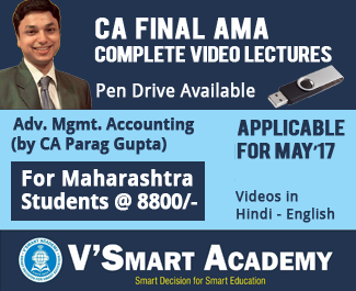 CA Final AMA Complete Video Lectures by CA Parag Gupta