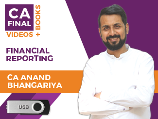 CA Final Financial Reporting Video Lectures by CA Anand Bhangariya (USB)