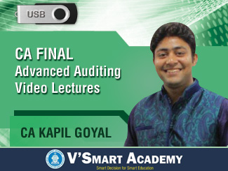 CA Final Advanced Auditing Video Lectures by CA Kapil Goyal (USB)
