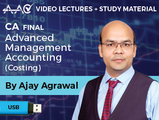 CA Final AMA (Costing) Video Lectures by CA Ajay Agrawal