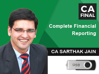 CA Final Complete Financial Reporting Video Lectures by CA Sarthak Jain