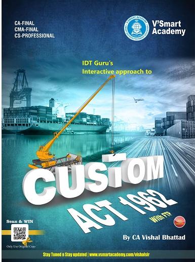 CA Final Custom Handbook Comprehensive Smart Guide by CA Vishal Bhattad