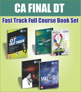 CA Final Direct Tax Fast Track Book Set by CA Vijay Sarda
