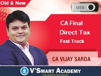 CA Final Direct Tax & International Taxation Fast Track Video Lectures by CA Vijay Sarda (USB)