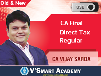 CA Final Direct Tax & International Taxation Video Lectures by CA Vijay Sarda (USB)